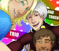 APH - Bad Touch Trio by AlbinoNial