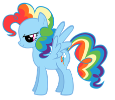 Rainbow Pie winged by Durpy