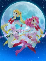 Two Moons by setsuna22