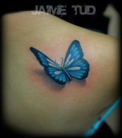 Butterfly by JaimeTudTattoos