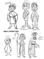 Nick style bible characters by tombancroft