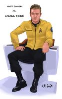 Captain Kirk by Bunk2