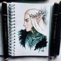 Instaart - Thranduil by Candra