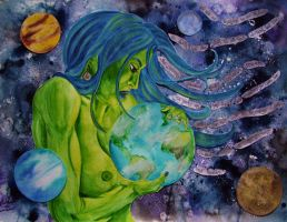 Earth Mother by NicoleHansche