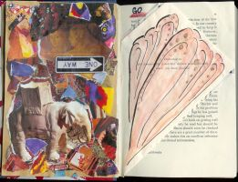 Deconstruction Book: Pages 3-4 by Charis