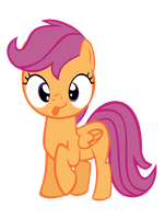 Scoots (Scootaloo) derp face aka derpaloo by megacody2