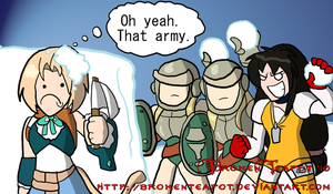 You and Whose Army? by BrokenTeapot