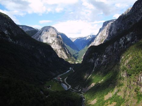 Norway - valley by CAStock