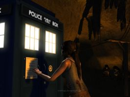 Lara Croft: Doctor, Are You In There? by Irishhips