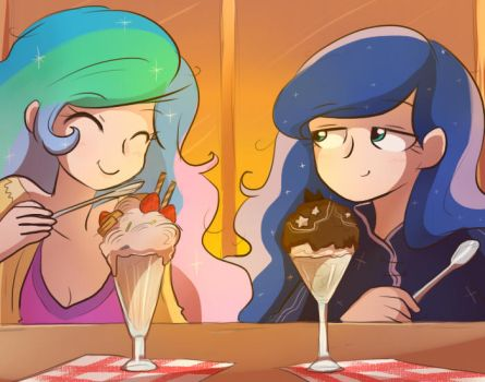 MLP: Ice cream for breakfast by keterok