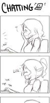 Expressions when chatting by CamiIIe