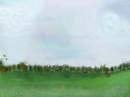 Simple Landscape by Rondo2009
