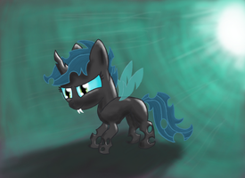 Changeling Scootaloo by ponyus94