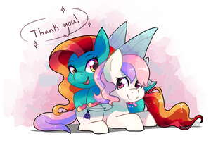 Fable and Cuddle Bug by ChocoChaoFun