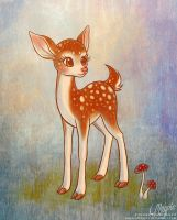 Little Deer by LaurenMagpie