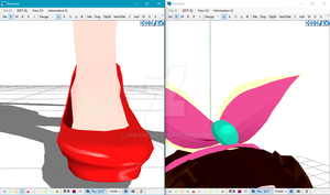 Hints [MMD W.I.P] by Gheroes48