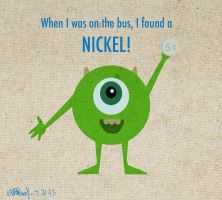 Mikey with a Nickel by Kyokaiba