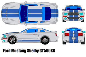 Ford Mustang Shelby GT500 KR by bagera3005