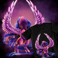Twilight Design T-shirt thingy by AquaGalaxy