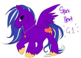 Spark Heart - G1 style by Glamophonic
