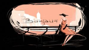 Bonjour by Catherine-PL