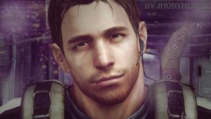 Cute Face - Chris Redfield by JhonyHebert