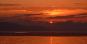 Arran Sunset 4 by danUK86