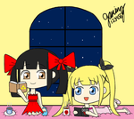 Da Qiao x Marie Rose - Midnight Reading Gals by gaming123456