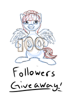 100 Followers giveaway on tumblr by Tomatobox96