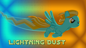 Lightning Dust Wallpaper by CKittyKat98