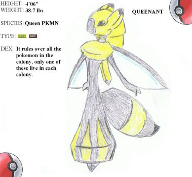 FAKEMON QUEENANT  -20- by mssingno
