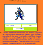 Albert the Lucario by pika159