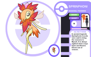Sprinphoni Wilted Forme by Cerulebell