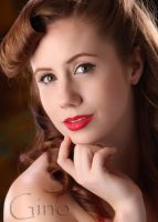Pinup Makeup Shoot by foxkat