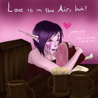 Nyx's 'hot date' by Zyvian