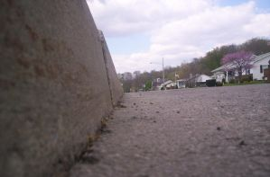 Angle of the curb by PunkBryShortCake