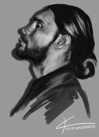 Jared Leto by apfelgriebs