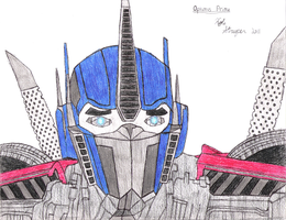 Optimus Prime by StreepPrime