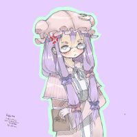 patchy doodle by MujiPen