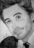 Robert Downey, Jr. by MariaMisen