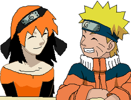 Me And Naruto :D by SakuraFromCp