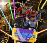 Six Lasers Over Cybertron by Techta
