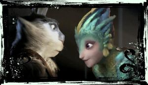 Bunnymund and Tooth by AngelMoon13