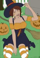 Bewitching Nidalee (Flat colors) by The-Piojolopez