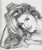 Cindy Crawford by TerryXart