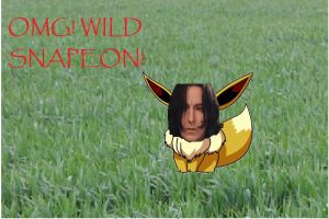 Wild Snape Appears by The---Storyteller