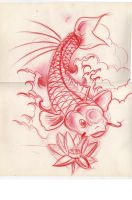 Koi fish by WillemXSM