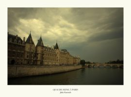 Quai de Seine a Paris by JuliaKretsch