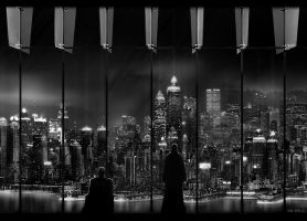 Cityscape by alexiuss