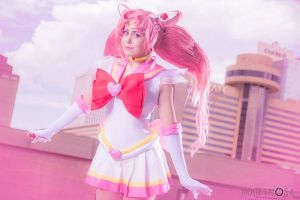 Super Sailor Chibi Moon Cosplay: IM AN ADULT by Khainsaw